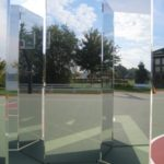 Trifold Glassless Mirror