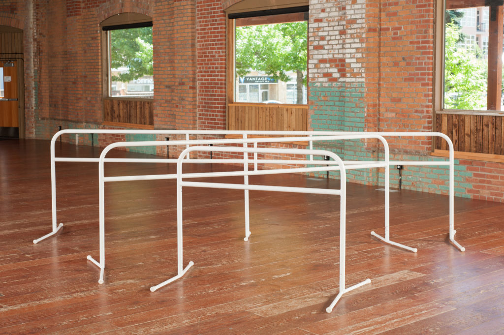 4.5 foot - 9 foot PortaBarre Portable Ballet Barre