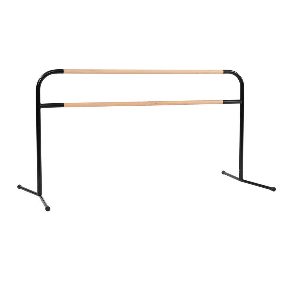 studiobarre aluminum base with wood horizontal barres. Black Bedroom Furniture Sets. Home Design Ideas